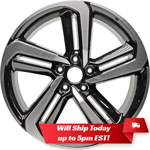 New Set Of 4 19 Sport Alloy Wheels With Centers For 2018 2019 2020 Honda Accord