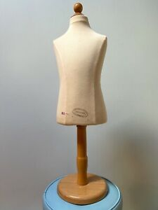 Vintage French Aubourg St Vendome Kids Mannequin 6 8 Years Dress Form