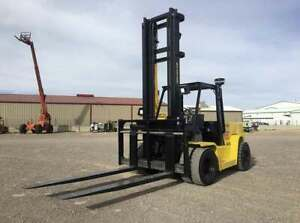 Hyster H155xl Forklift Capacity 14 350 Lbs Hours 8 014