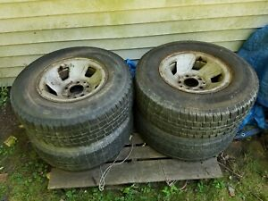 Tires With Steel Rims 5 bolt 235 75r15