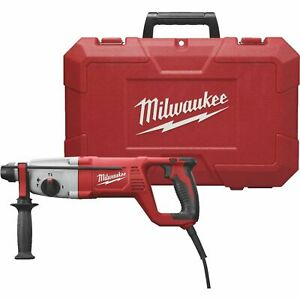 Milwaukee 5262 21 1 In Sds Plus Rotary Hammer Kit W Case 8 0 Amp New