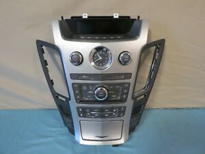 08 13 Cadillac Cts Climate Control Xm Radio Cd Aux Player Panel Oem 22748627