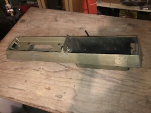 1967 1968 1969 Olds Cutlass S 442 Upper Console Shell