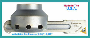 Suburban Tool Fly Cutter With R8 Arbor See Our Videos 7 75 To 10 625 Dia