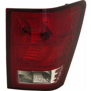 Fits 2007 2010 Jeep Grand Cherokee Tail Light Passenger Side Capa