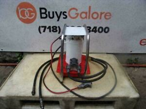 Enerpac Eer441 1hp Electric Hydraulic Pump Double Acting 10 000 Psi Works Great