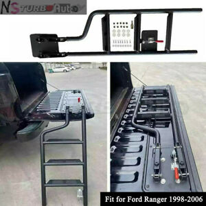 Pickup Truck Auto Step Foot Tailgate Bed Ladder Fits For Ford Ranger 1998 2006