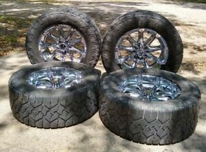 Nitto Tires 4 Mounted On 4 Xd Rims Local Pickup Only No Shipping