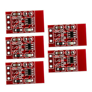 5pcs Ttp223 Capacitive Touch Switch Button Self lock Module 2 2 5 5v For Arduino