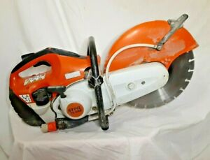Stihl Ts420 Gas Concrete Cut Off Chop Saw 14 Blade Included Water Hookup Kit