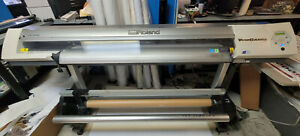 Roland Vp 540i Wide Format Print And Cut 54 Eco Solvent Printer Take Up Reel