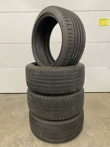 Dunlop Set Of 4 Tires 245 40r18 W Sp Sport Maxx Rt Performance 900 Miles