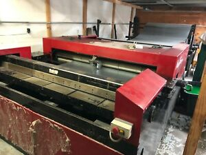Autofold 516 Hvac Coil Line Machine By Advance Cutting Systems