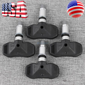 For Gm 25774006 Tpms Tire Pressure Monitor Sensor Cadillac Srx Cts Set Of 4
