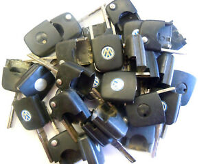 Remote Chip Key Head Transponder Ignition Flip Key Locksmith Lot Fits Volkswagen