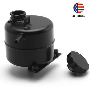For Mini Cooper S R52 R53 Polished Radiator Header Water Coolant Expansion Tank