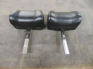 Used Pair Of Complete Head Rests Headrests Mgb 1970 80 Mg Midget Original Oem