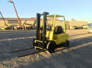 Hyster 45 Forklift Hours 13 929 Capacity 4500 Lbs
