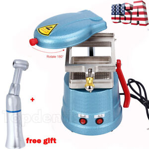 Dental Vacuum Forming Molding Machine Former Heat Thermoforming Contra Angle