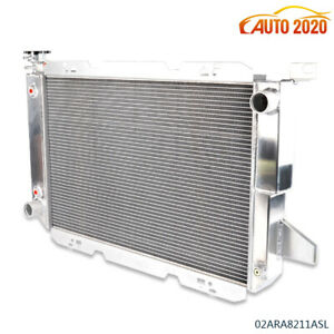 Aluminum Racing Radiator Fits For 1985 1996 Ford F150 f250 bronco V8 2 door a