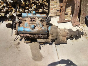 1956 Buick 322 Nailhead Engine And Dynaflow Transmission 56 Motor