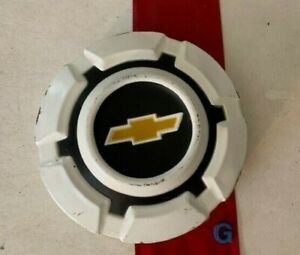 G 1 Rare 1969 1972 White Chevy Dog Dish Hubcap Truck Poverty