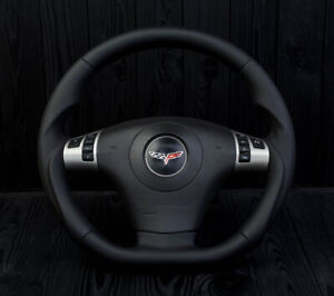 Corvette C6 Custom Steering Wheel 2006 2013 Flat Bottom D Shaped Zr1