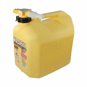 No spill 1457 Diesel Fuel Can Yellow 1 Pack