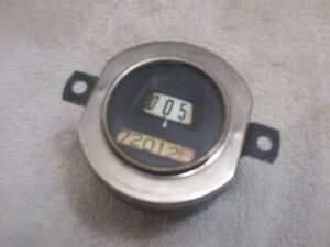 Model A Ford Speedometer Round 1930 1931 North East Reconditioned 00002 5 Miles