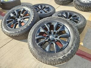 20 Chevy Tahoe Silverado Ltz 2021 Oem Wheels Rims Tires 2018 2019 2020 5920 New