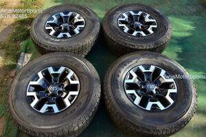 16 Toyota Tacoma Oem Factory Trd Offroad Wheels Tires 4runner Tundra 2020 Tpms