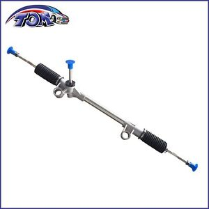 New Manual Steering Rack Pinion Assembly Fits 74 78 Ford Mustang Ii Pinto