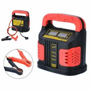 350w Heavy Duty Smart Car Battery Charger Pulse Repair 12v 24v 3 stage Charging