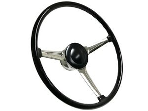 356 Porsche Style 9 bolt Steering Wheel Kit With Gm Style Hub Adapter