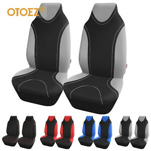 Universal Highback 2pcs Car Front Seat Covers Bucket Seat Protector Fit Most Car