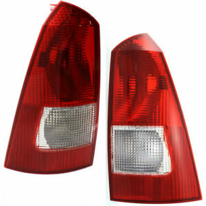 Fits Ford Focus Tail Light 2000 01 02 2003 Pair Wagon For Fo2800179 Fo2801179