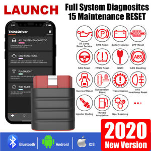 Thinkdriver Auto Bluetooth Full System Obd2 Scanner Car Diagnostic Tool Launch
