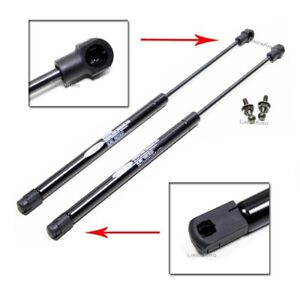 Pair Rear Window Glass Lift Supports Struts For Jeep Grand Cherokee 1999 2004