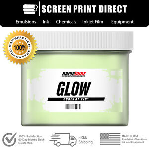 Glow In The Dark Plastisol Ink For Screen Printing Low Temp Cure 270f 8 Oz