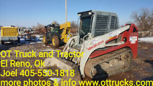 2011 Takeuchi Tl250 Cab Ac Skid Steer Rubber Track Used