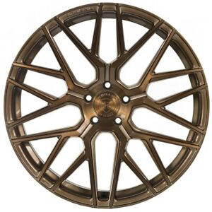 Rohana Wheels Rim Rfx10 20x9 5x114 35et Brushed Bronze
