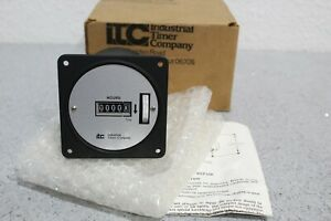 Industrial Timer Company Itc Model C 5 Reset Time Totalizer 120v 60w Ships Free