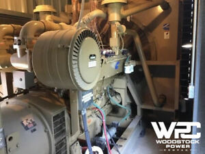 Used 500 Kw Cummins Gta28 Natural Gas Generator