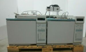 Lot Of 3 Agilent 6890n Network Gc Systems Extras