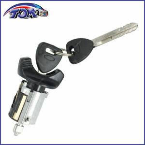 New Ignition Lock Cylinder W Key For Ford Lincoln Mercury Models W Black Bezel