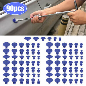 18 30 90 Car Pulling Tabs Paintless Dent Repair Hail Removal Kit For Puller Tool