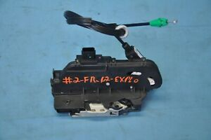 2012 Ford Explorer Limited 3 5l Awd 2 Front Right Door Lock Latch Actuator Oem