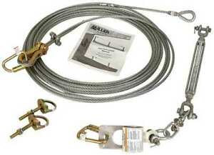 Honeywell Miller Sg416 60ft 60 Ft l Horizontal Lifeline Kit