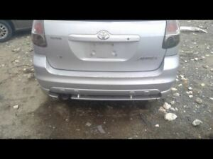 Rear Bumper With Lower Spoiler Fits 03 08 Matrix 706547