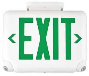 Hubbell Lighting Dual lite Evcugwdi Hubbell Lighting Duallite Exit Sign